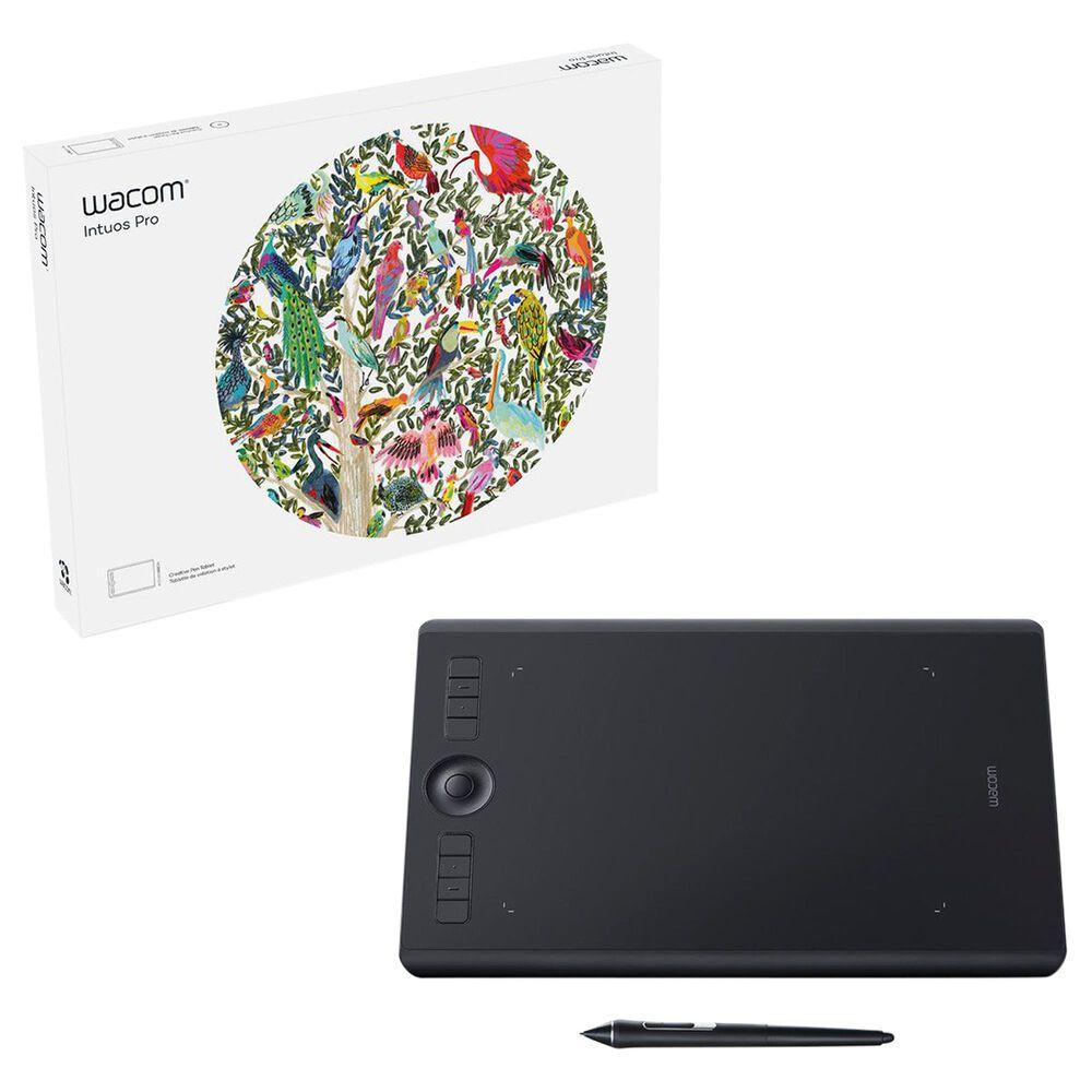 Wacom Intuos Pro Medium Creative Drawing Tablet in Black, , large