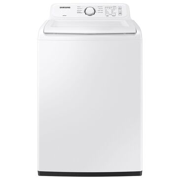 Samsung 4.1 Cu. Ft. Top Load Washer with Soft Close Lid and 8 Washing Cycles in White, , large