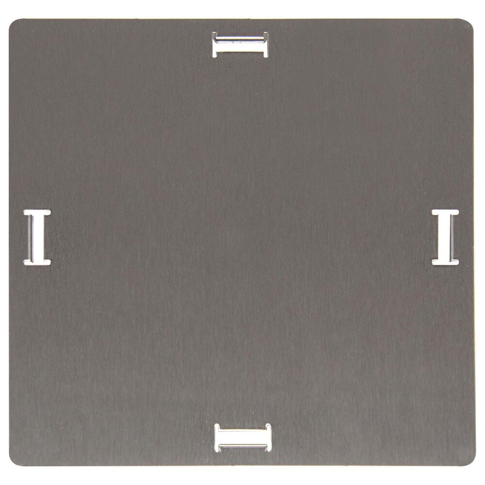 Blaze LP Hole Cover in Stainless Steel, , large