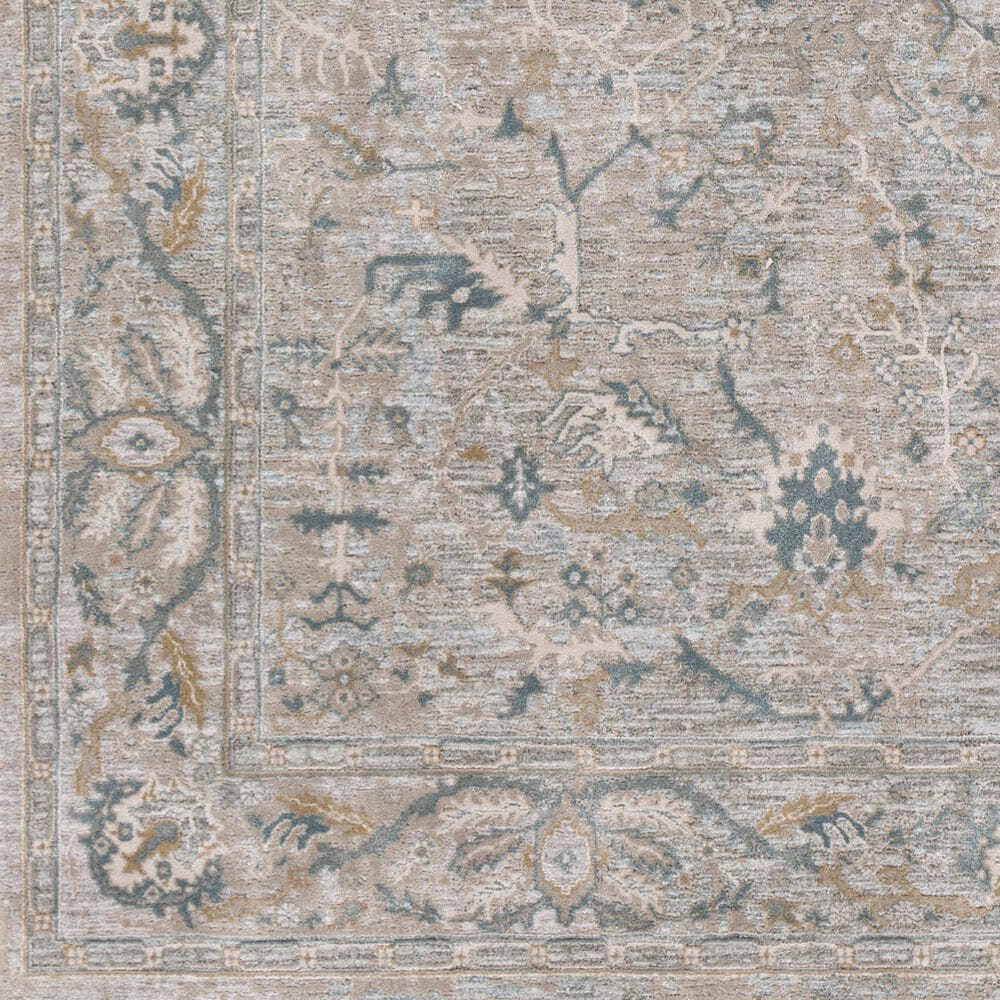 "Surya Brunswick 5' x 7'5"" Beige, Sage and Blue Area Rug, , large"