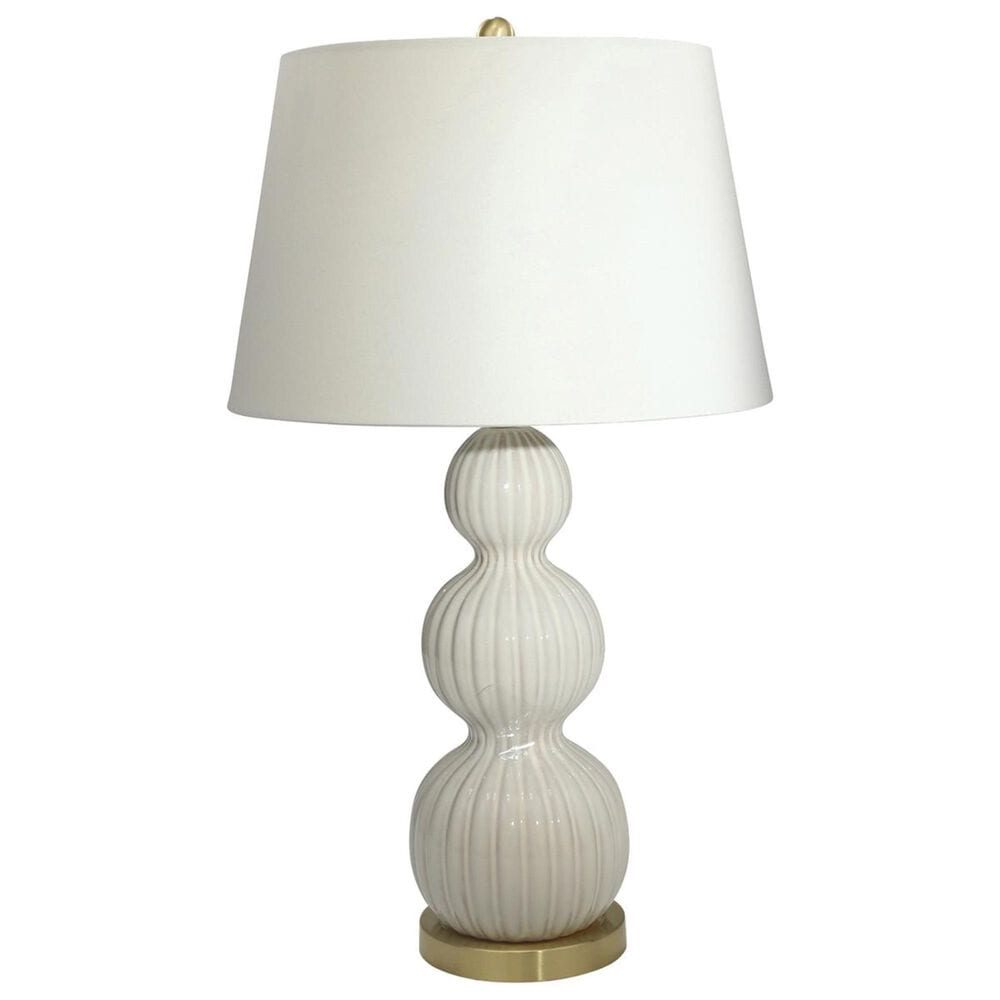 """Sagebrook Home 31"""" Ceramic Table Lamp in Ivory, , large"""