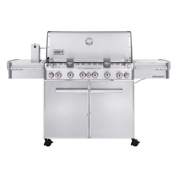 Weber Summit S-670 Liquid Propane Grill in Stainless Steel, , large