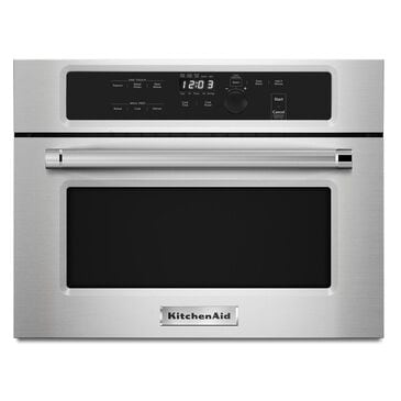 """KitchenAid 24"""" Built-In Microwave in Stainless Steel, , large"""