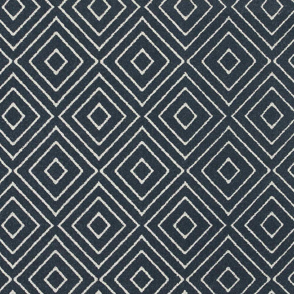 "Oriental Weavers Hampton 2332B 9'10"" x 12'10"" Navy Area Rug, , large"