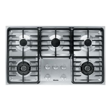 """Miele 36"""" Stainless Steel Gas Cooktop, , large"""