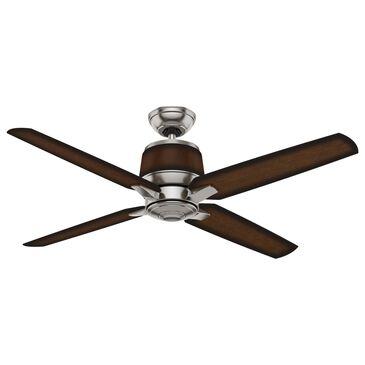 "Hunter Aris 54"" Outdoor Ceiling Fan in Brushed Nickel, , large"