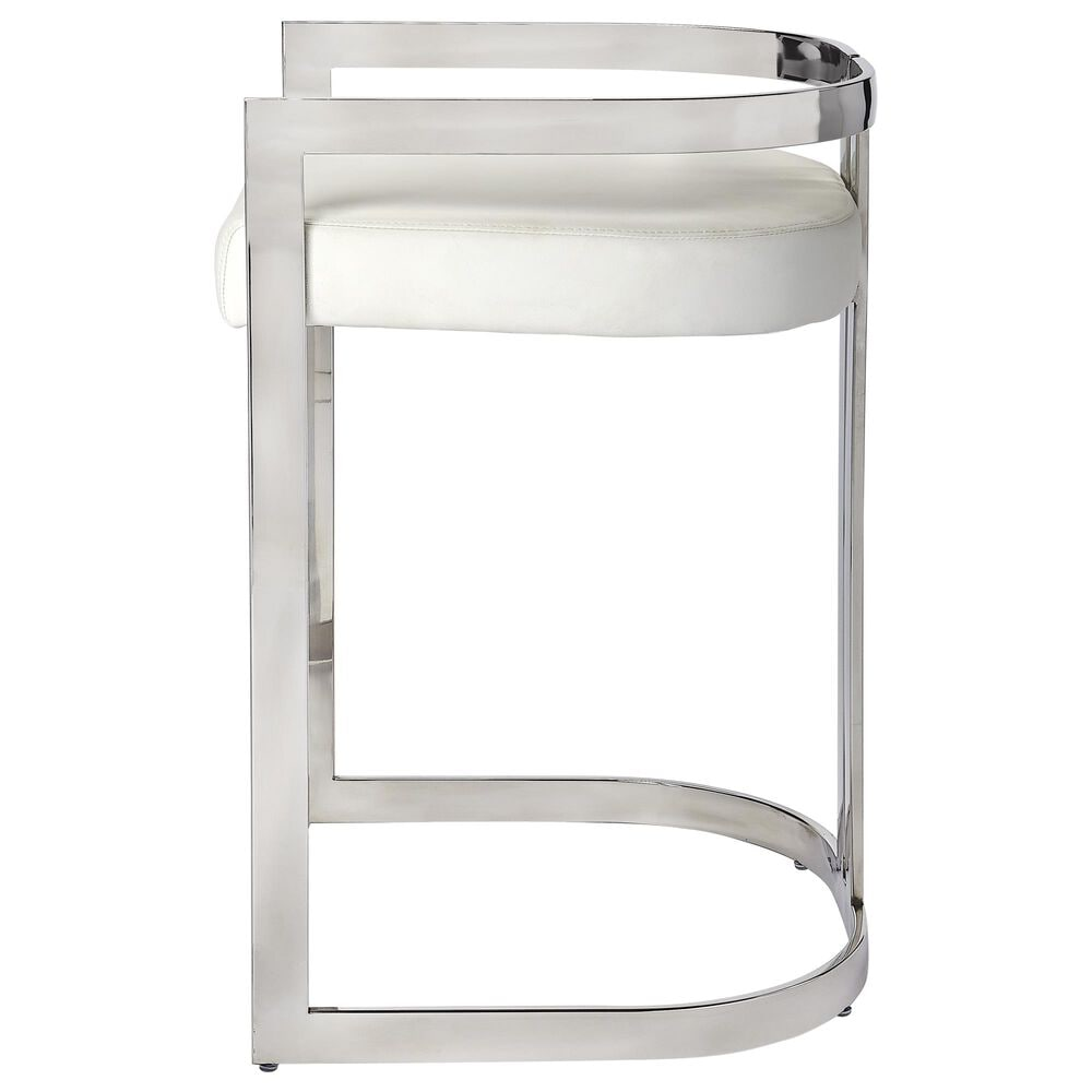 Butler Bravo Counter Stool in Silver, , large