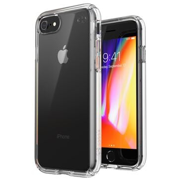 Speck Presidio Perfect Case for iPhone SE/8 in Clear, , large