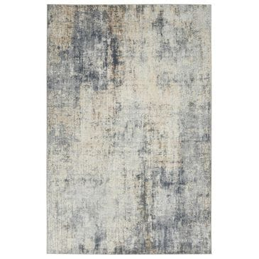 """Nourison Rustic Textures RUS01 2'2"""" x 7'6"""" Grey and Beige Runner, , large"""