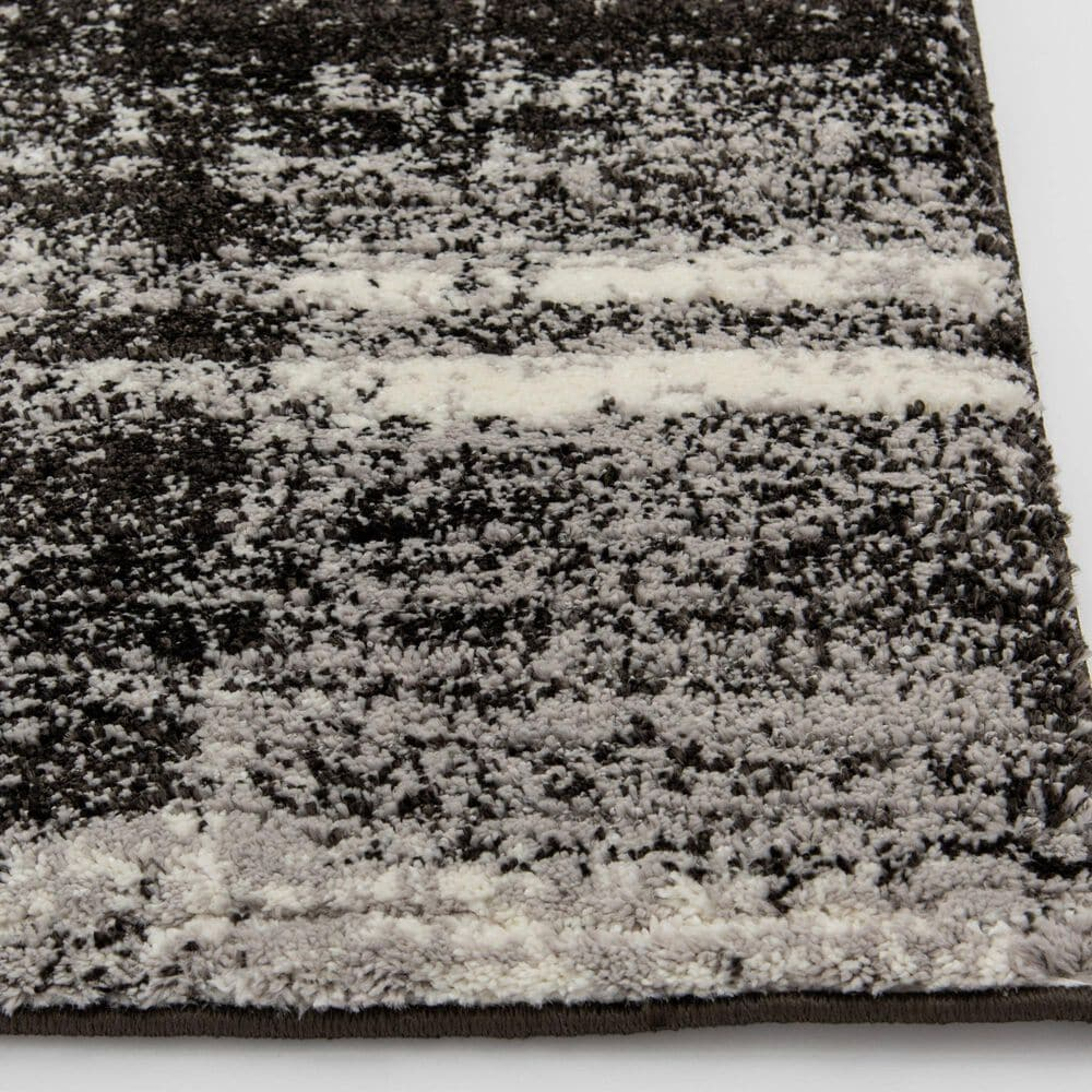 """Central Oriental Structures Torrent Shaye 6316FM 5' x 7'6"""" Buff and Metal Area Rug, , large"""