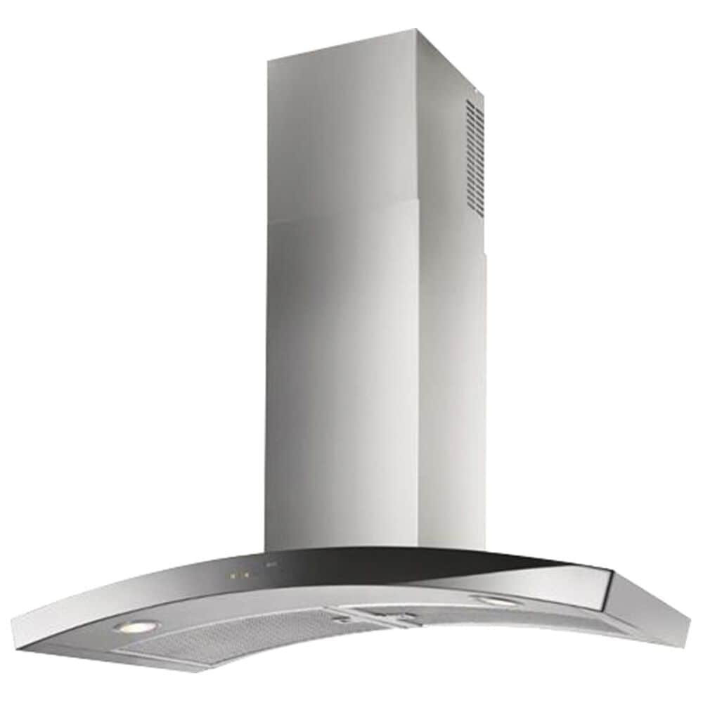 "Best Hoods 36"" Curved Chimney Range Hood in Stainless Steel, , large"