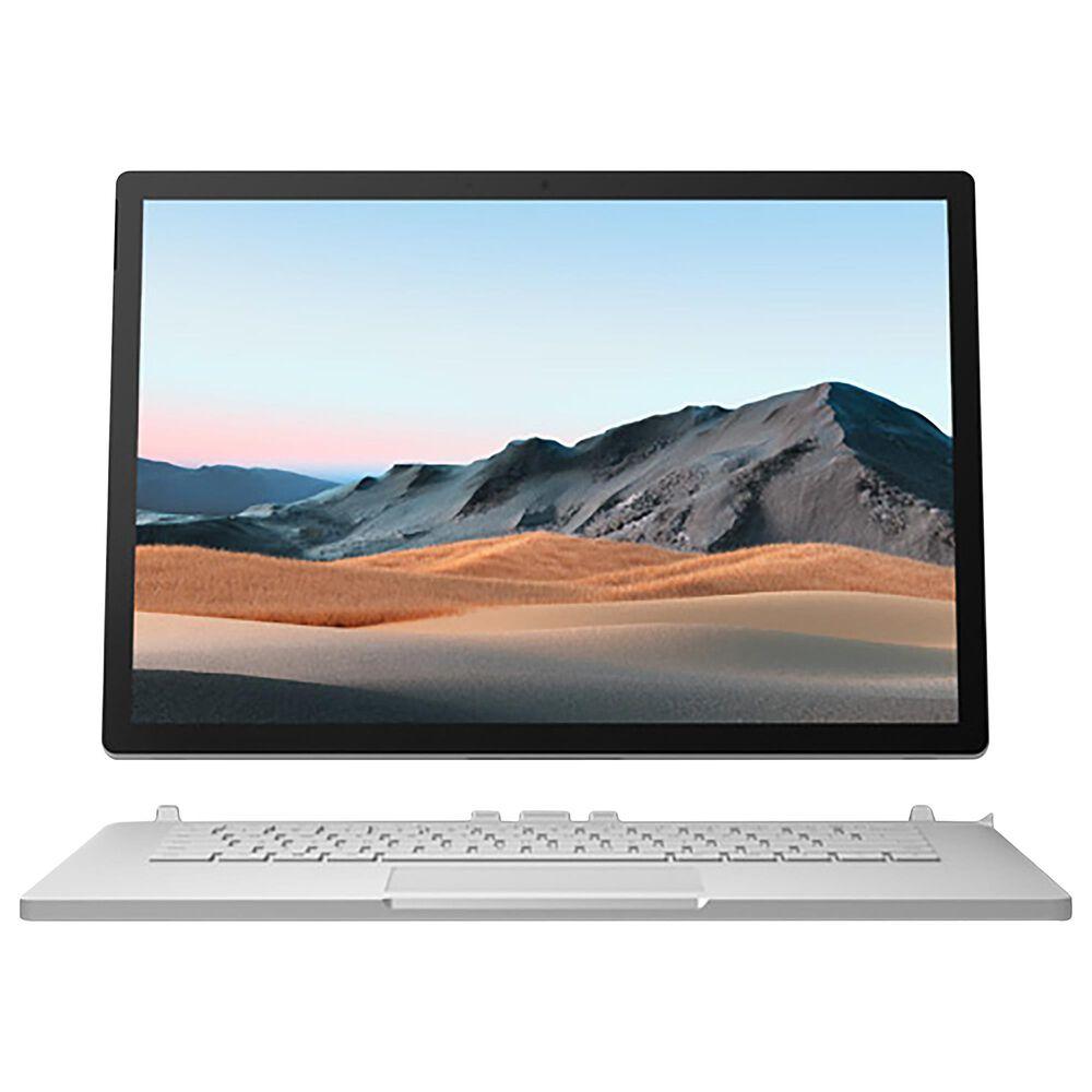 "Microsoft 13.5"" Surface Book 3   Intel Core i5-1035G7 - 8GB RAM - Intel Iris Plus Graphics - 256 GB SSD in Platinum, , large"