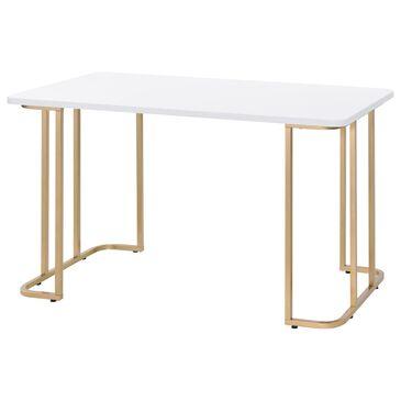 Gunnison Co. Estie Writing Desk in White, , large