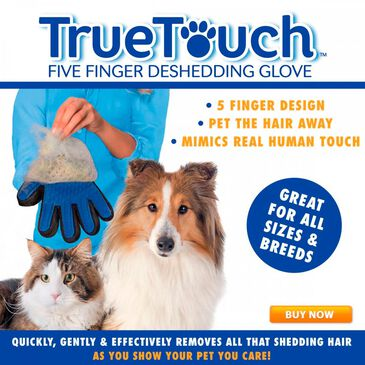 As Seen on TV True Touch Pet Glove, , large
