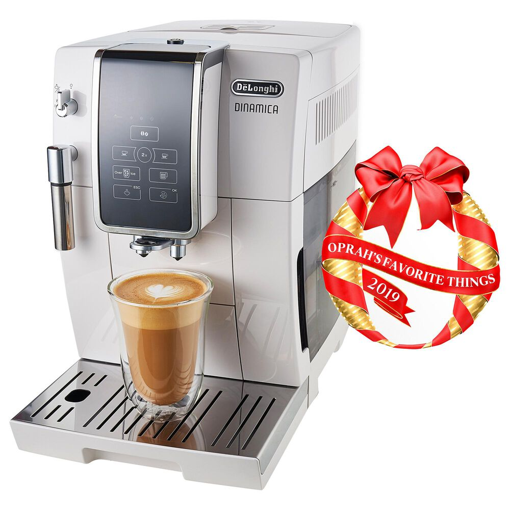 Delonghi Dinamica - Espresso and Cappuccino Coffee Maker in Stainless Steel, , large