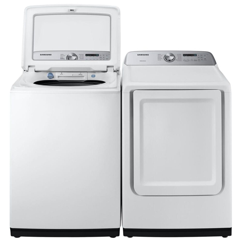 Samsung 7.4 Cu. Ft. Electric Dryer with Smart Care in White, , large