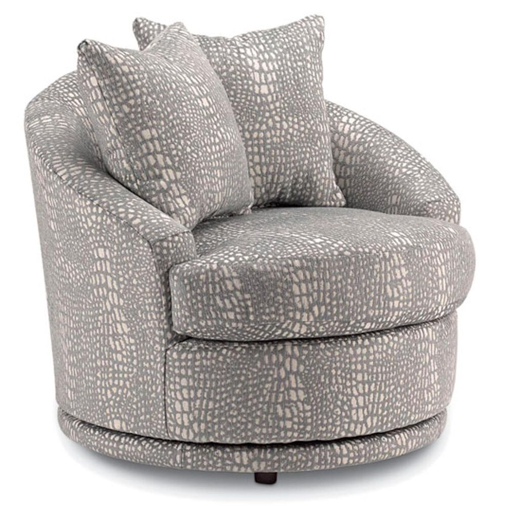 Best Home Furnishings Alanna Swivel Chair in Ivory, , large
