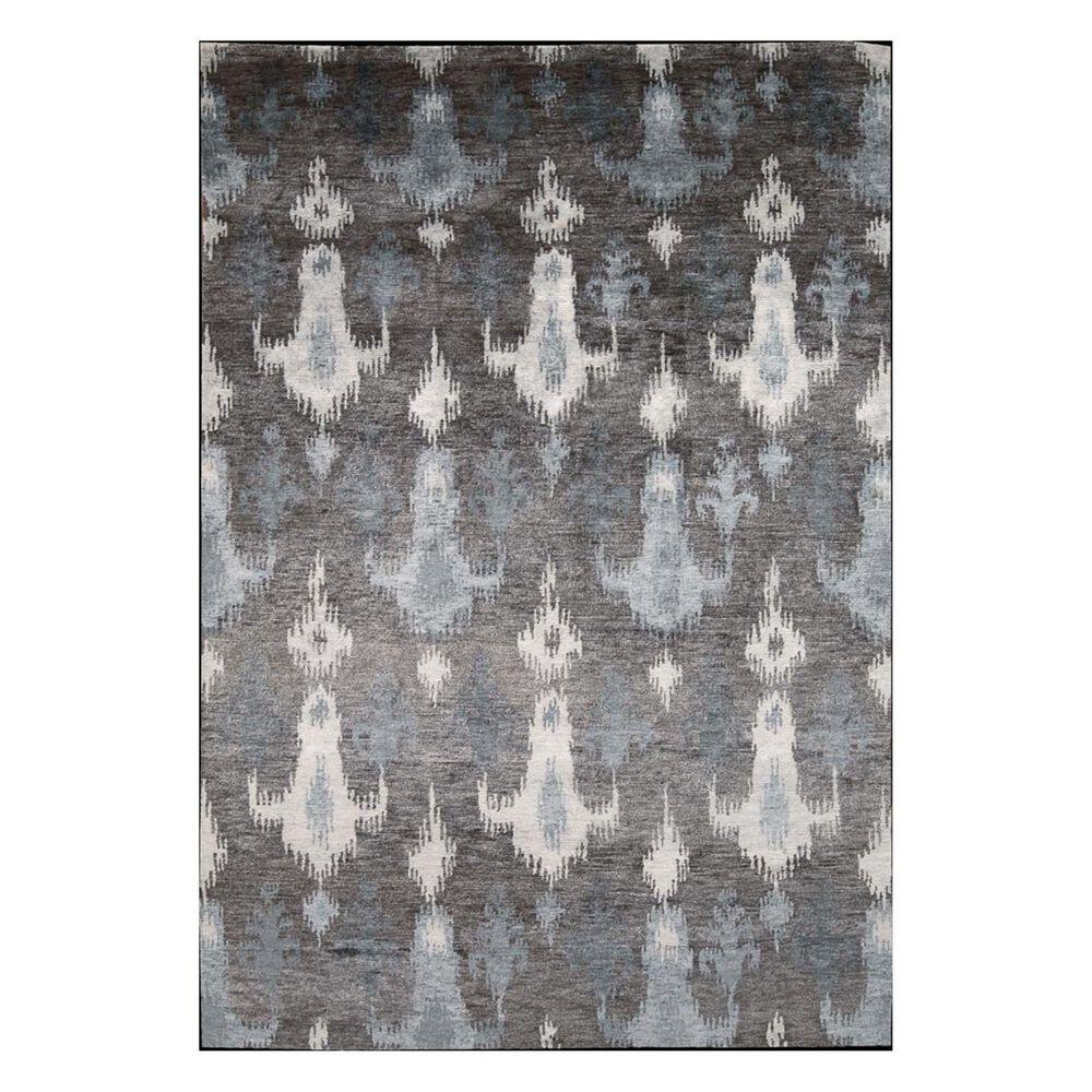 "Nourison Silk Shadows SHA09 5'6"" x 7'6"" Grey Area Rug, , large"