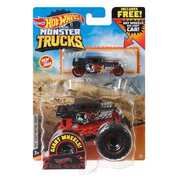 Hot Wheels Hot Wheels Monster Trucks Bone Shaker, , large