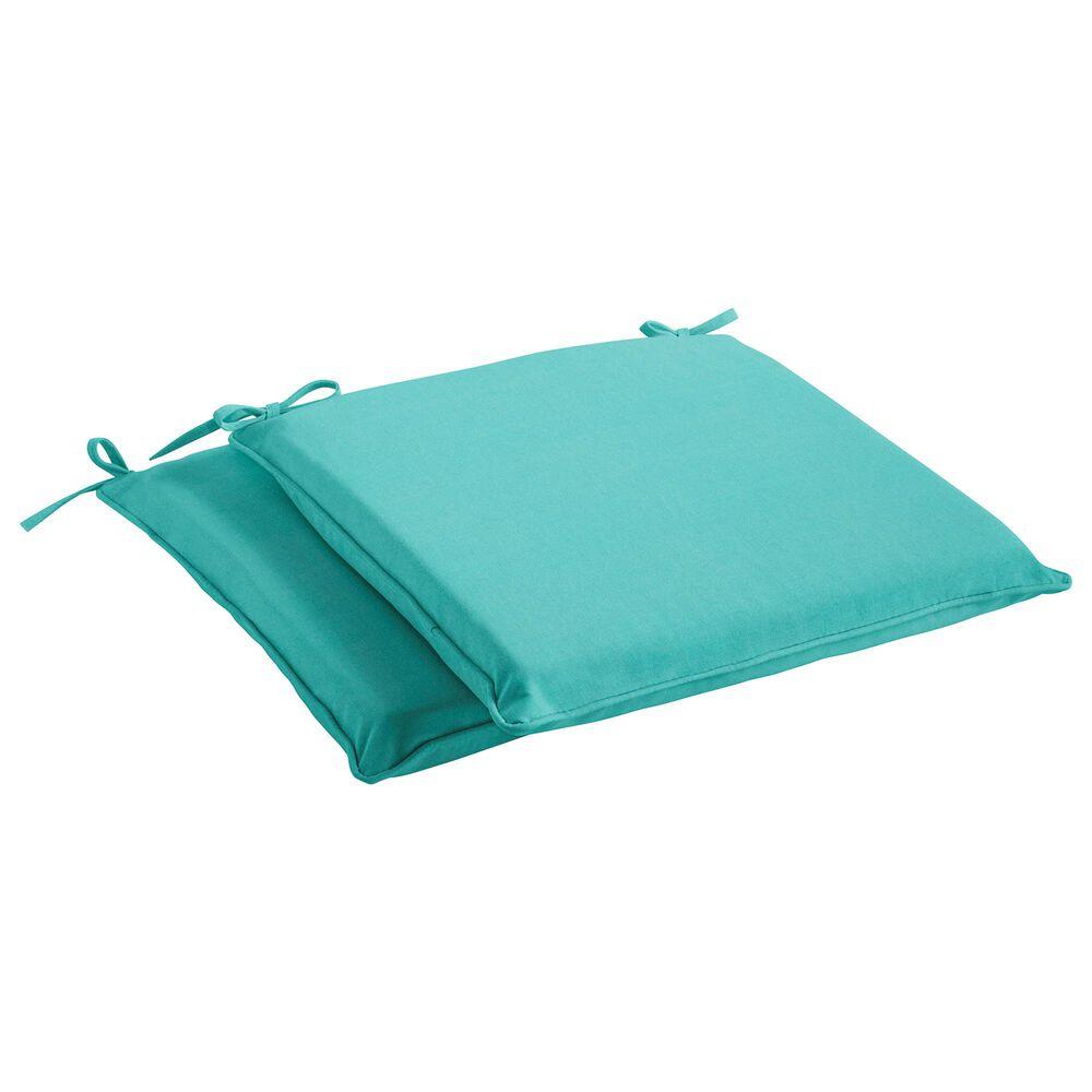 "Sorra Home Sunbrella 19"" Chair Pad in Canvas Aruba (Set of 2), , large"