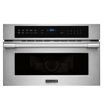 Frigidaire Professional 1.6 Cu. Ft Built-In Convection Microwave Oven with Drop-Down Door in Stainless Steel, , large