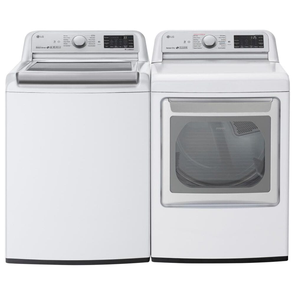 LG 5.5 Cu. Ft. Top Load Washer in White, , large