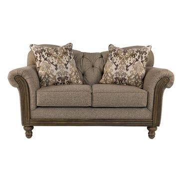 Hughes Furniture Loveseat in Sandstone Oyster, , large