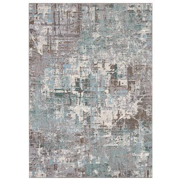 "Karastan Enigma Igneous 91686-60138 5'3"" x 7'10"" Jade Area Rug, , large"
