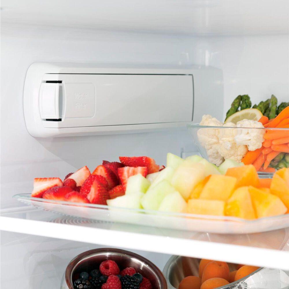 GE Appliances 27.8 Cu. Ft. Energy Star French-Door Refrigerator in Black Slate, , large