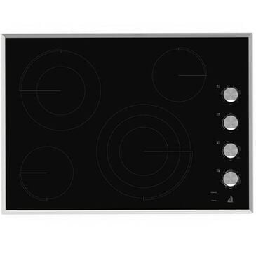 "Jenn-Air Lustre Stainless 30"" Electric Radiant Cooktop , , large"