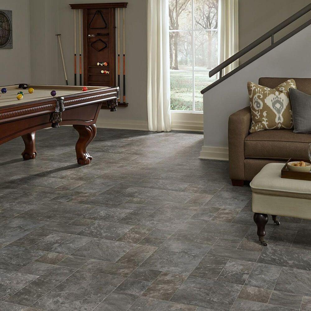 Mannington LVS Platinum Landmark Graystone Luxury Vinyl Tile, , large