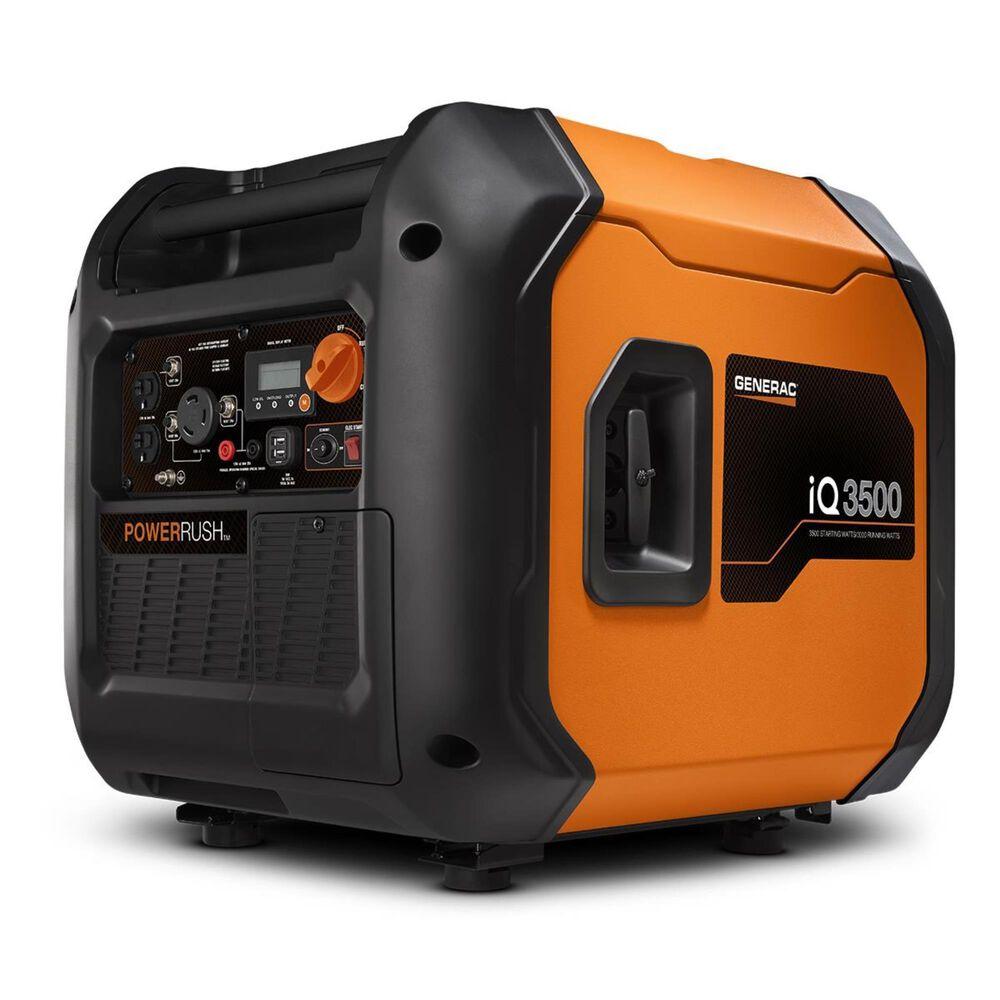 Generac IQ3500 Portable Inverter Generator + 1 1/4 Gallon No Spill Gas Can, , large