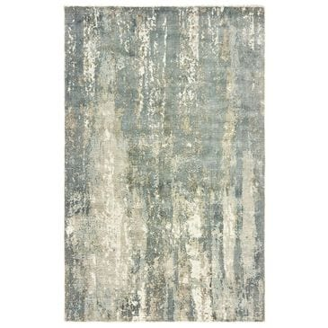 "Oriental Weavers Formations 70002 2'6"" x 10' Blue Runner, , large"