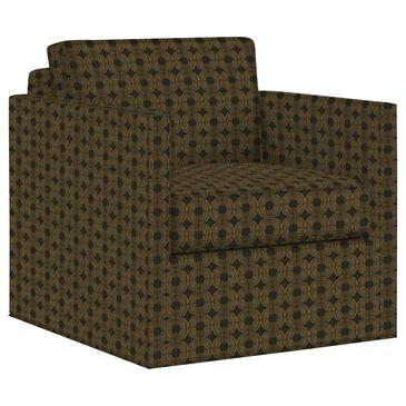 Lexington Furniture Hinsdale Swivel Club Chair in Black, , large