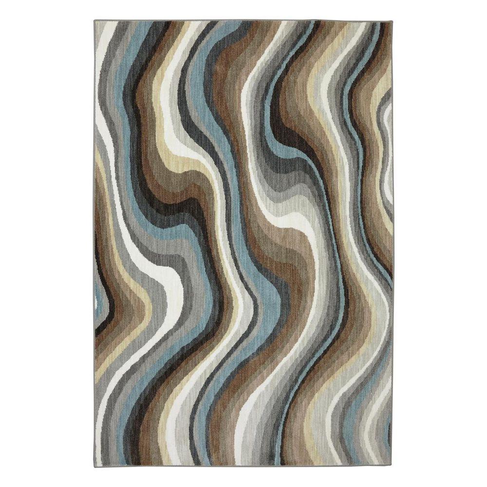 "Karastan Euphoria Larkhall 90269 9'6"" x 12'11"" Granite Area Rug, , large"