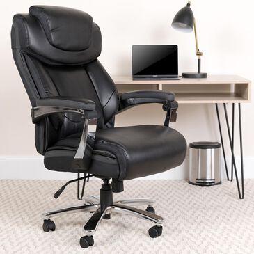 "Flash Furniture 52"" HERCULES Big & Tall Executive Chair in Black, , large"