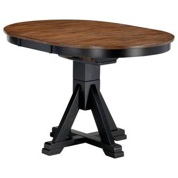 Chromcraft Cochrane Dining Table in Rustic Ebony, , large