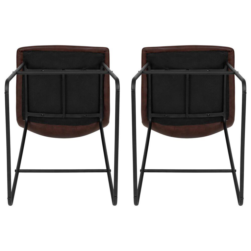 "Flash Furniture 30"" Barstools in Dark Brown (Set of 2), , large"