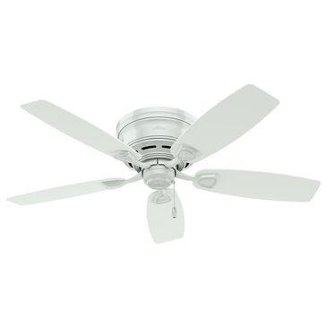 "Hunter Sea Wind 48"" Outdoor Low Profile Ceiling Fan in White, , large"