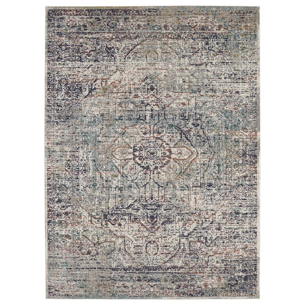 "Karastan Soiree Keene 91981-99999 5""3"" x 7""6"" Multicolor Area Rug, , large"