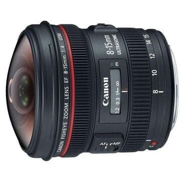 Canon EF 8-15mm f/4L Fisheye USM Lens, , large