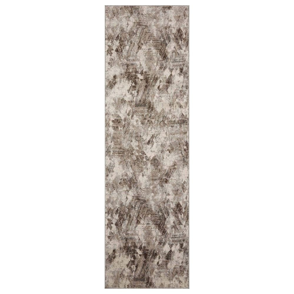 "Loloi II Austen AUS-03 2'4"" x 8' Natural and Mocha Runner, , large"