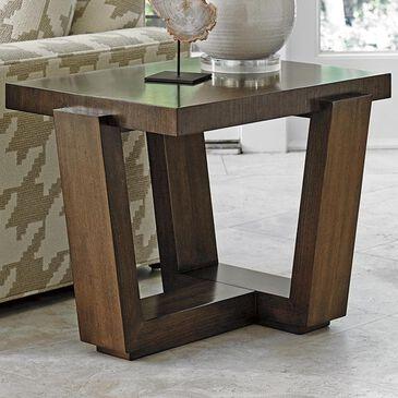 Lexington Furniture Laurel Canyon Esplanade End Table in Mocha, , large