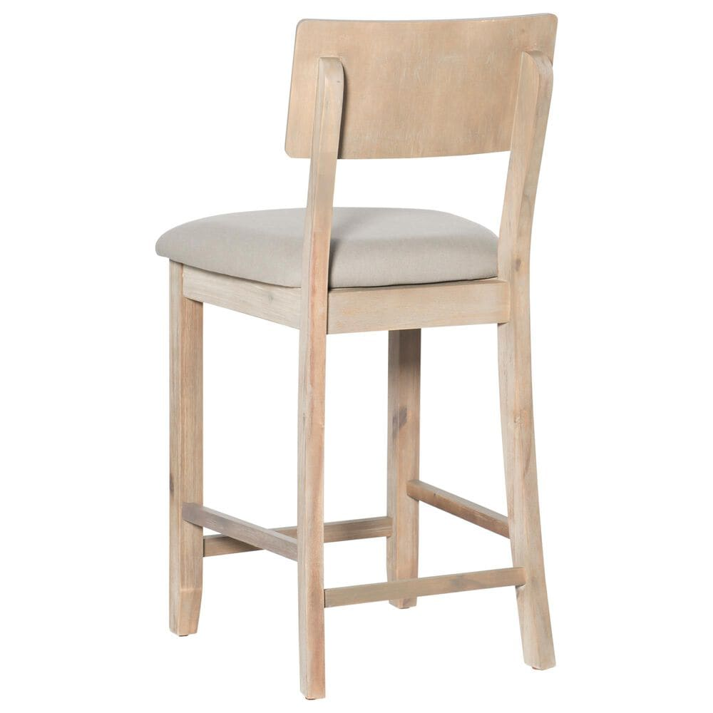 Linden Boulevard Haynes Counter Stool in Grey, , large