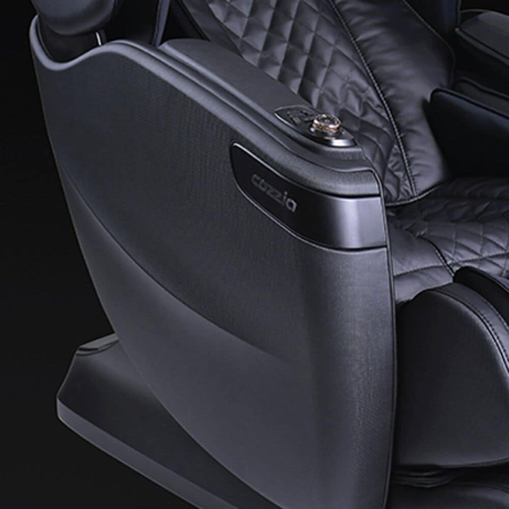 Cozzia Qi SE Massage Chair in Black Pearl, , large