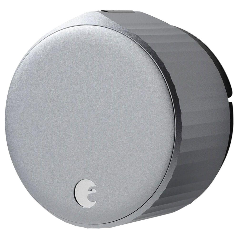 August Wi-Fi Smart Lock in Silver, , large