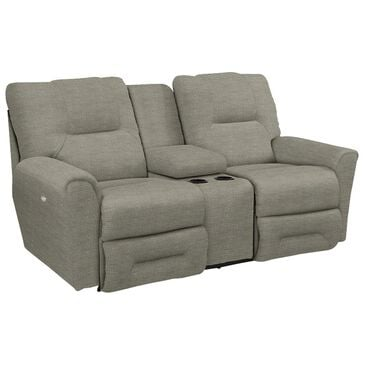 La-Z-Boy Easton Full Reclining Loveseat with Console in Platinum, , large