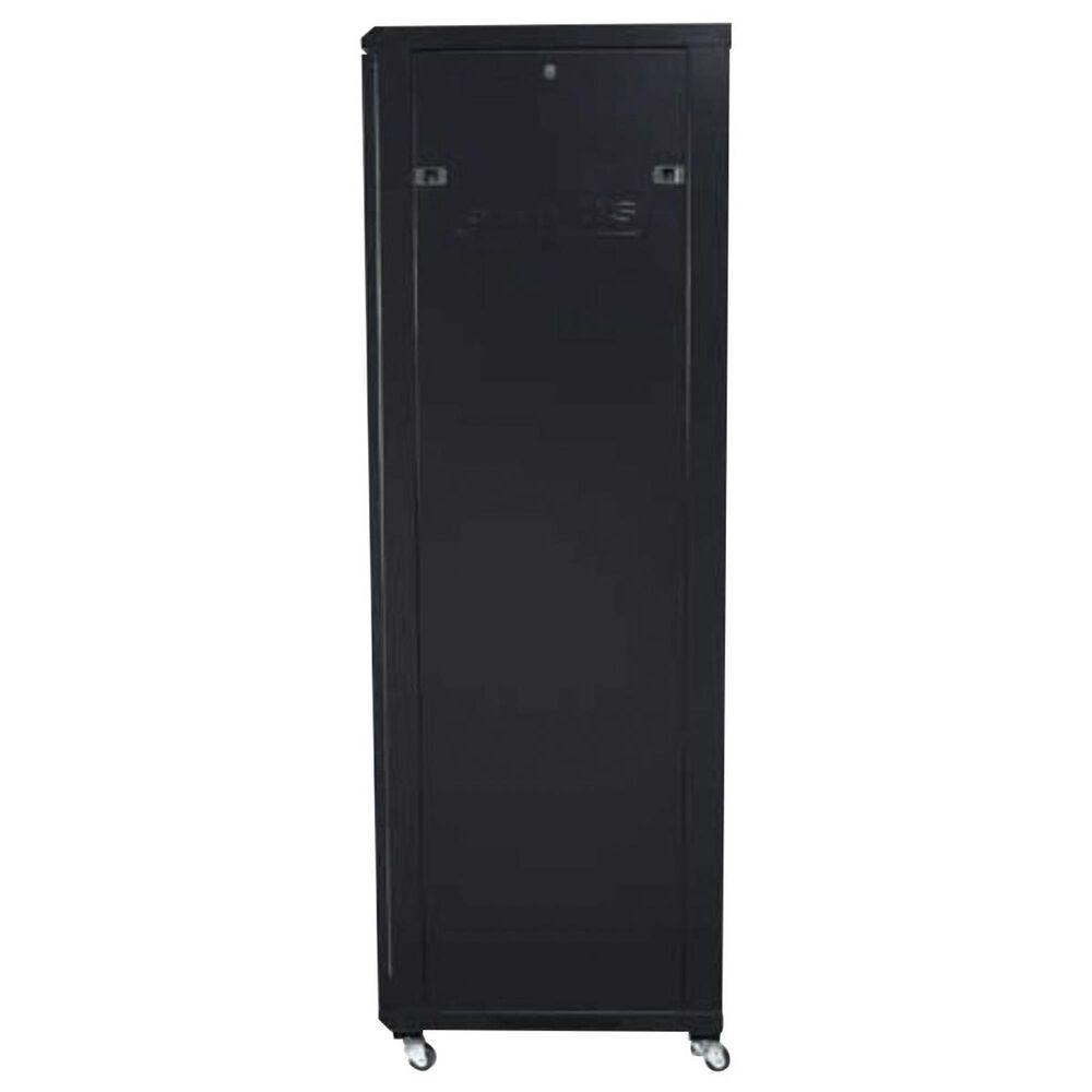 """Sanus 70.5"""" Tall AV Rack 36U Component Rack in Black, , large"""