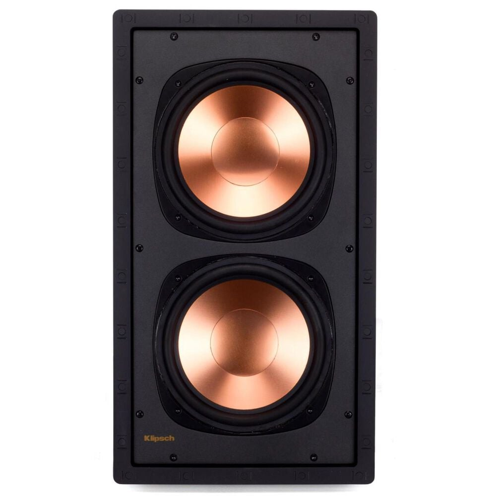 """Klipsch Dual 8"""" In Wall Subwoofer, , large"""