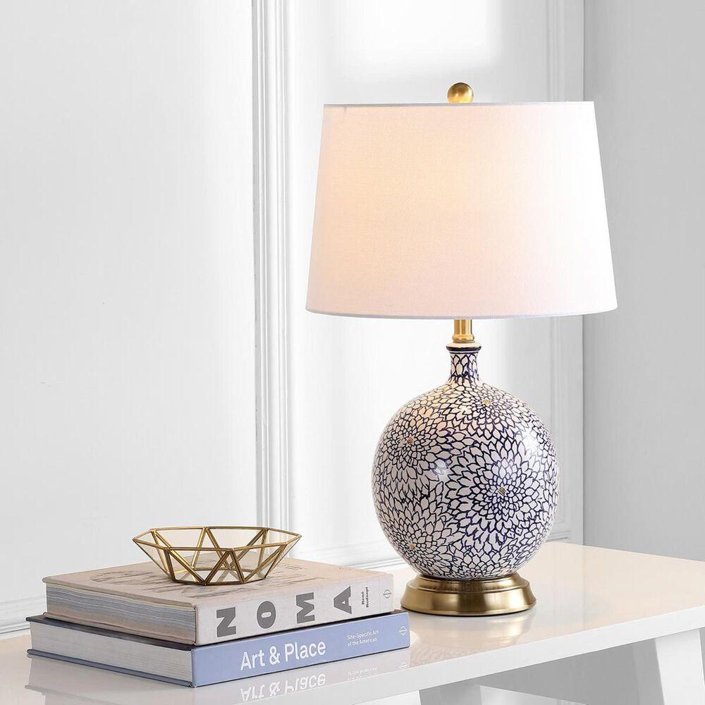Safavieh Orianna Table Lamp in Blue/White, , large